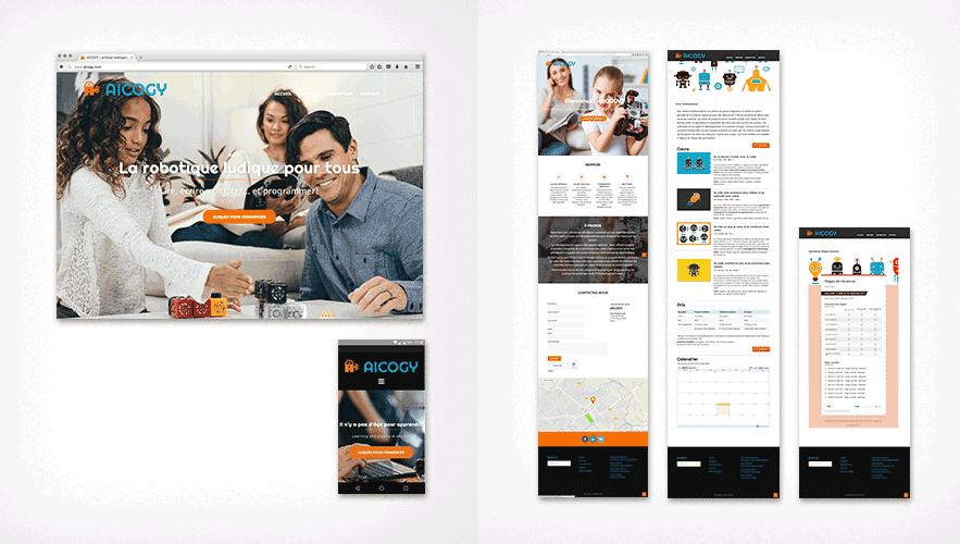 Portfolio AICOGY Web Design