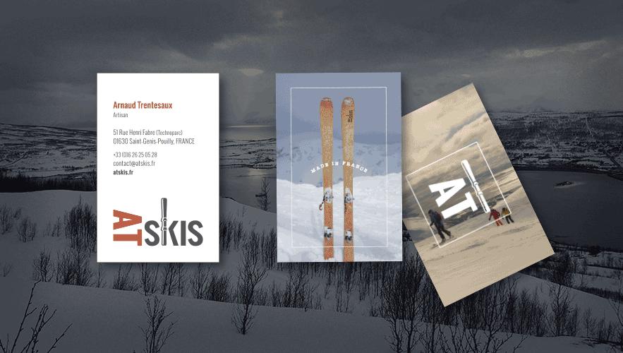 Portfolio AT-Skis Logo