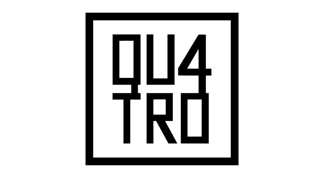 Portfolio Qu4tro Logo Black