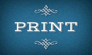 Services : Print